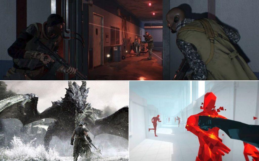 nejlepší hry pro PSVR