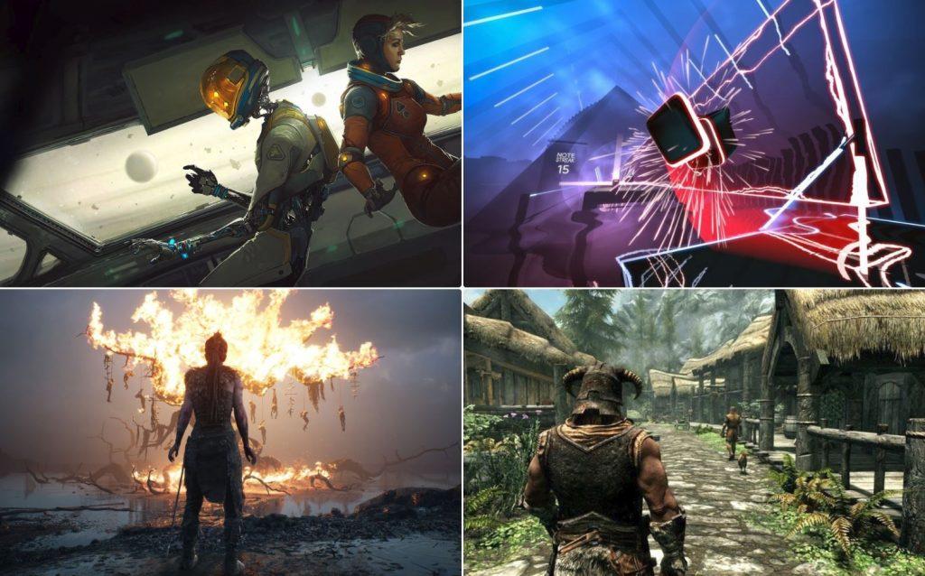 nejlepší hry pro Oculus Rift