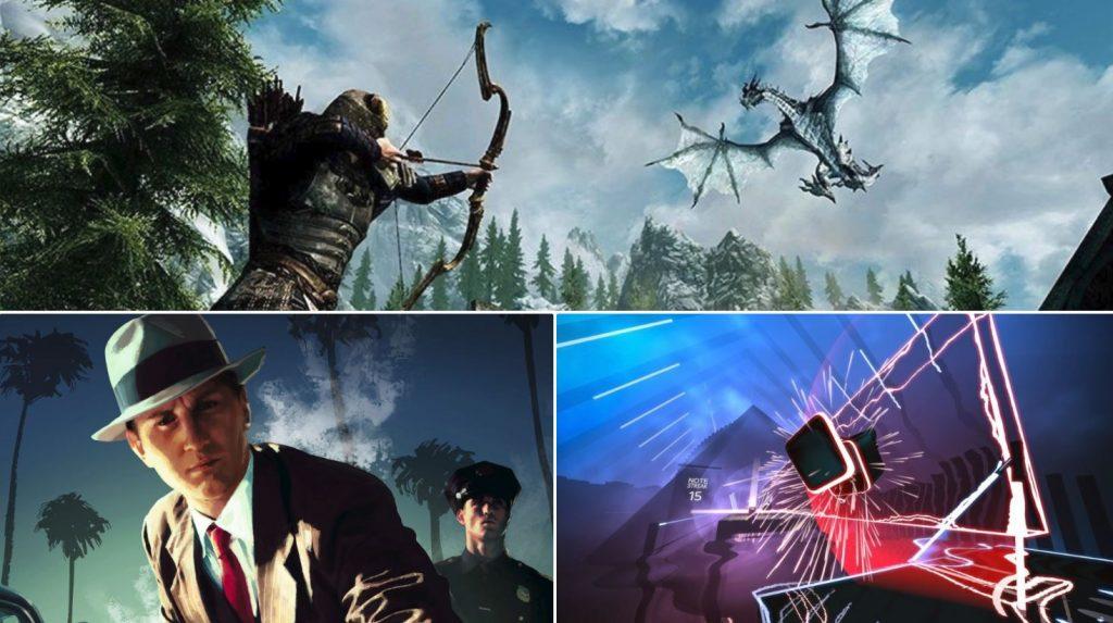 nejlepší hry pro HTC Vive