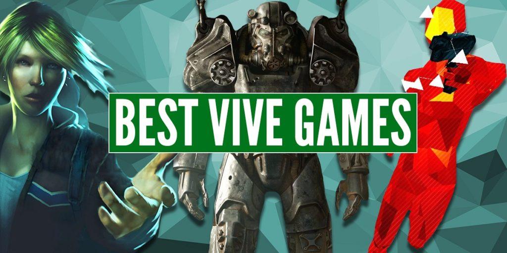 nejlepších her pro HTC Vive