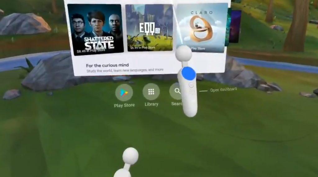 6DOF ovladačů pro Google Daydream